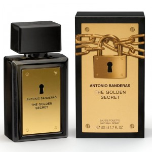 Antonio Banderas The Golden Secret EDT Masculino 50ml